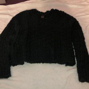 Medium Dark green knit sweater